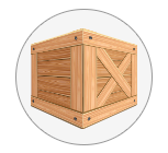 Custom Crates, office appliances, furniture, computers, servers and more