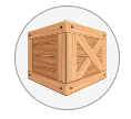 Custom Built Crates, furniture, glass, valuables