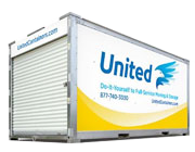 Portable Containers, full service move, storage