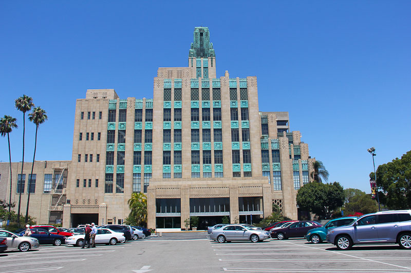 The Bullocks Wilshire Building in Los Angeles